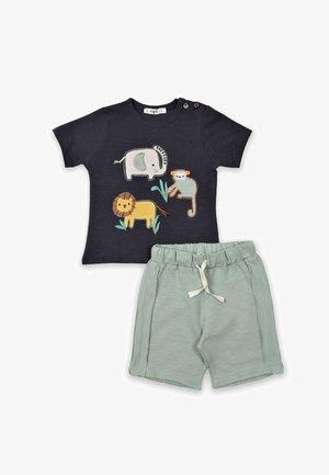 SET - Shorts - anthracite/light green