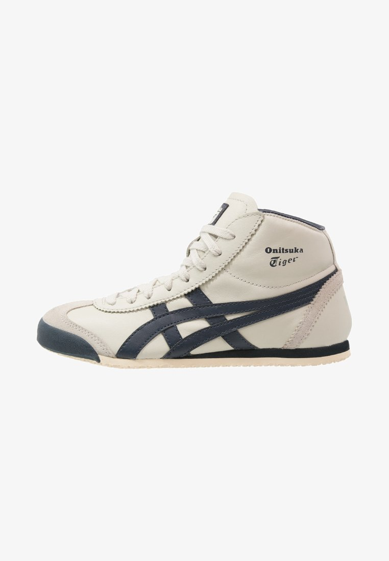 Onitsuka Tiger - MEXICO MID RUNNER UNISEX - High-top trainers - birch/indian ink