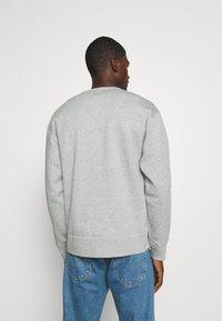 Nike SB - STRIPES CREW UNISEX - Sweatshirt - grey heather/white - 2