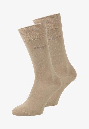 UNI 2 PACK - Socks - medium beige