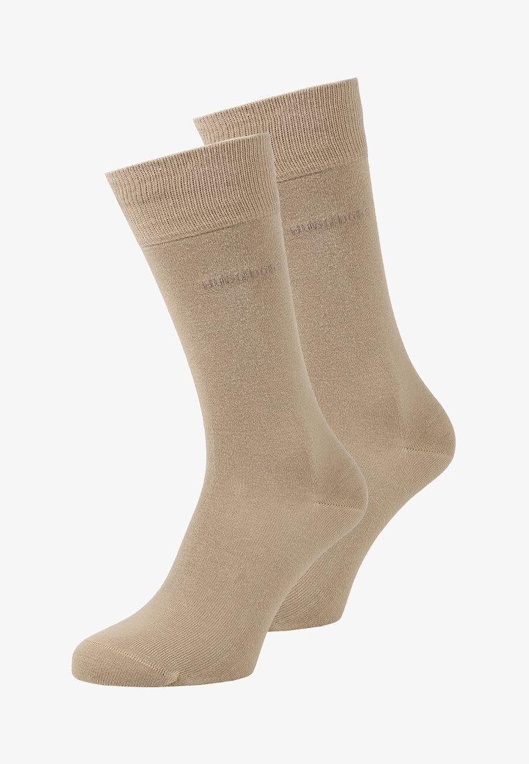 BOSS - UNI 2 PACK - Socks - medium beige
