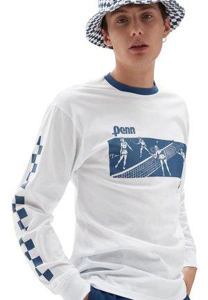 MN VANS X PENN LS - Long sleeved top - (penn) white
