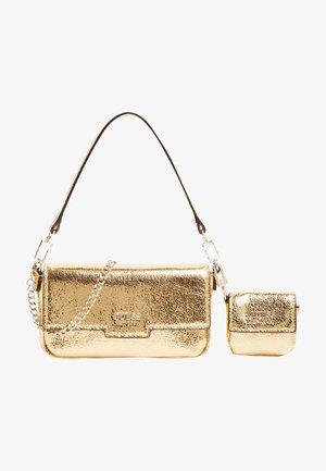 PIXI LAMINIERT - Across body bag - goldenfarbe