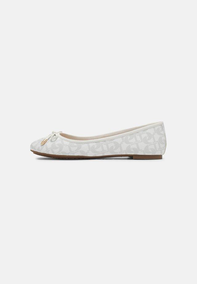 HARPAR  - Ballet pumps - white