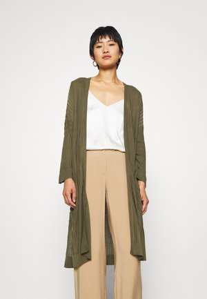 ELINA - Cardigan - burnt olive