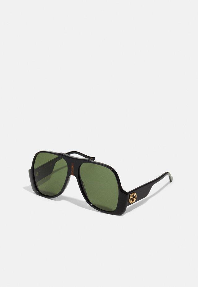 UNISEX - Sluneční brýle - black/green