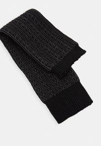 Falke - CHAIN STITCH - Leg warmers - black - 2
