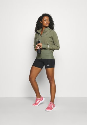FAST TRACK RUNNING - Sports jacket - moss green