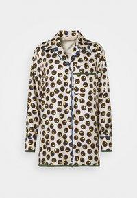 BUTTON DOWN SHIRT - Button-down blouse - off-white