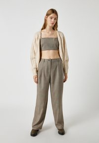 PULL&BEAR - Trousers - grey - 1