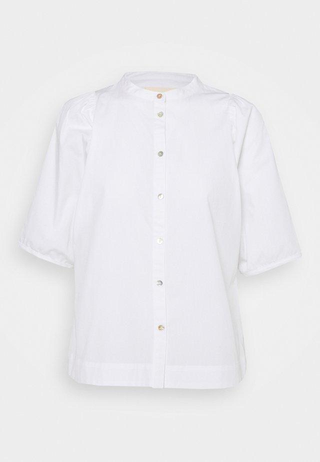 VIVIAN - Button-down blouse - white