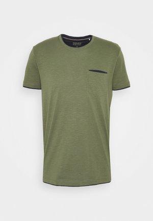 Basic T-shirt - khaki green