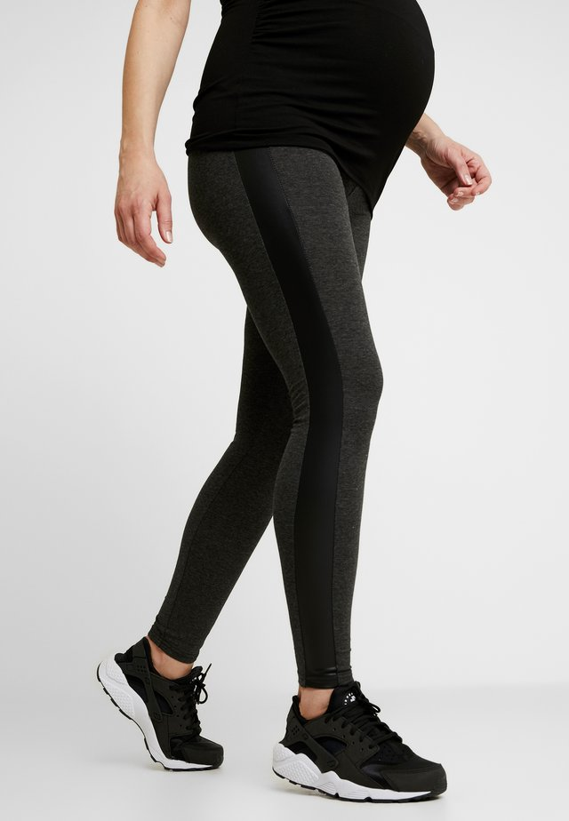 PATRAS - Leggings - Trousers - anthracite melange