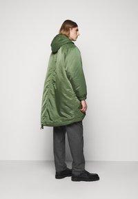YMC You Must Create - HUNTER - Zimní kabát - olive - 2