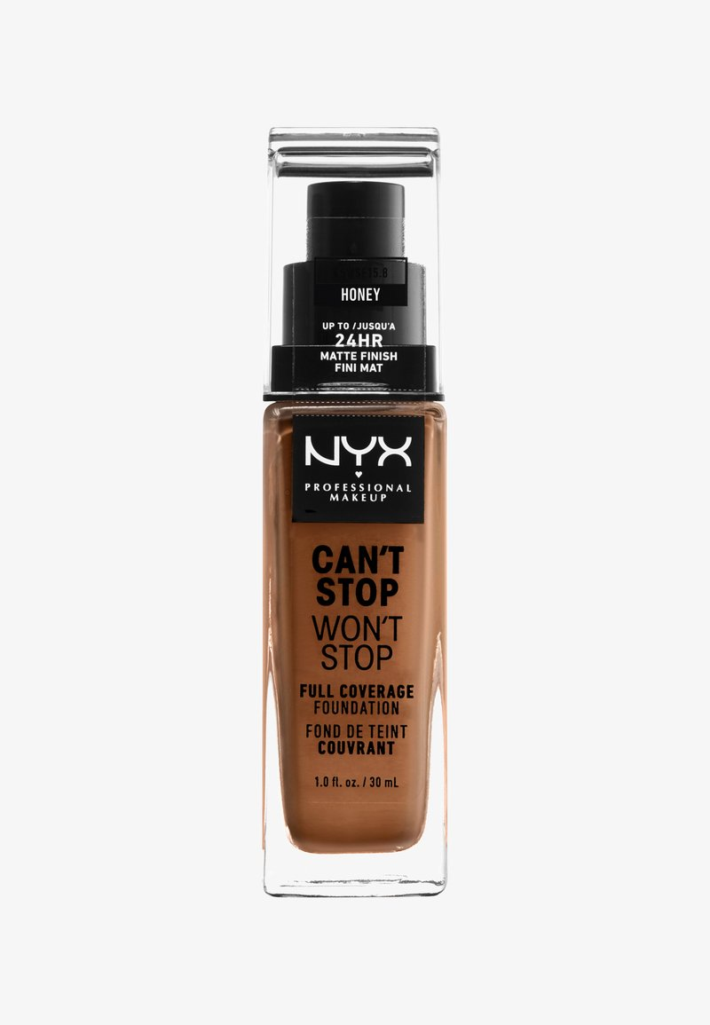 Nyx Professional Makeup - CAN'T STOP WON'T STOP FOUNDATION - Foundation - 15.8 honey