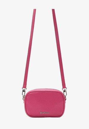 Taška spříčným popruhem - mottled pink