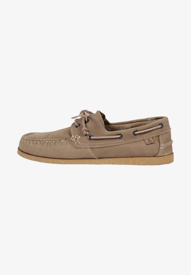 Buty żeglarskie - khaki