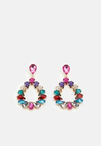 Pieces - PCPINKA EARRINGS - Earrings - gold coloured/multi - 0