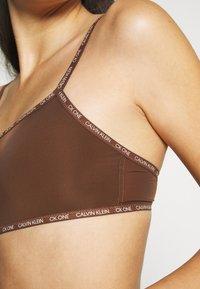 Calvin Klein Underwear - UNLINED BRALETTE 2 PACK - Steznik - rich espresso - 5