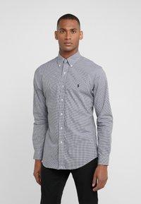 Polo Ralph Lauren - NATURAL SLIM FIT - Shirt - black/white - 0