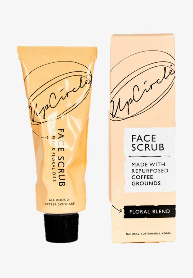 UPCIRCLE COFFEE FACE SCRUB FLORAL BLEND - Face scrub - -