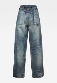 G-Star - LINTELL HIGH DAD - Flared Jeans - antic faded tarnish blue destroyed - 1