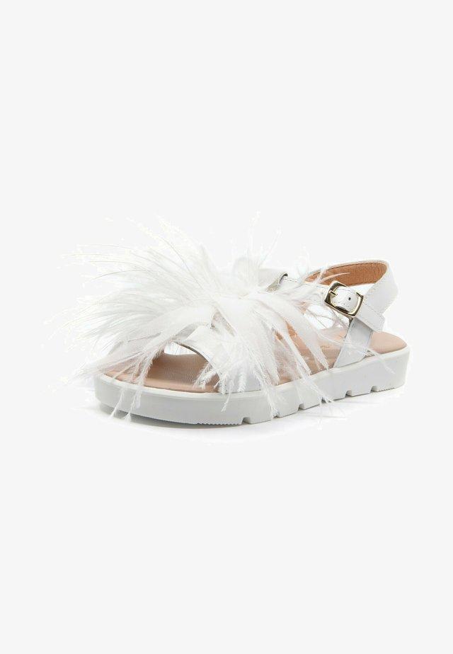 Sandales - blanco