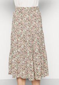 ONLKENDALL SKIRT - A-line skirt - pumice stone/green