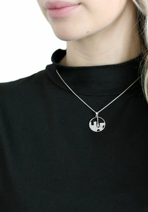 STADT RUND  - Halsband - silber