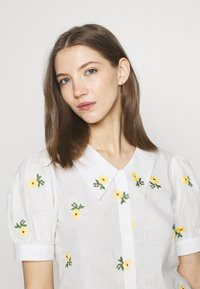 Trendyol - Button-down blouse - white - 4