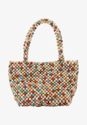 MINA BEADED MINI TOTE - Käsilaukku - multi-coloured