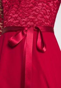 Swing - Cocktail dress / Party dress - burgundy - 5
