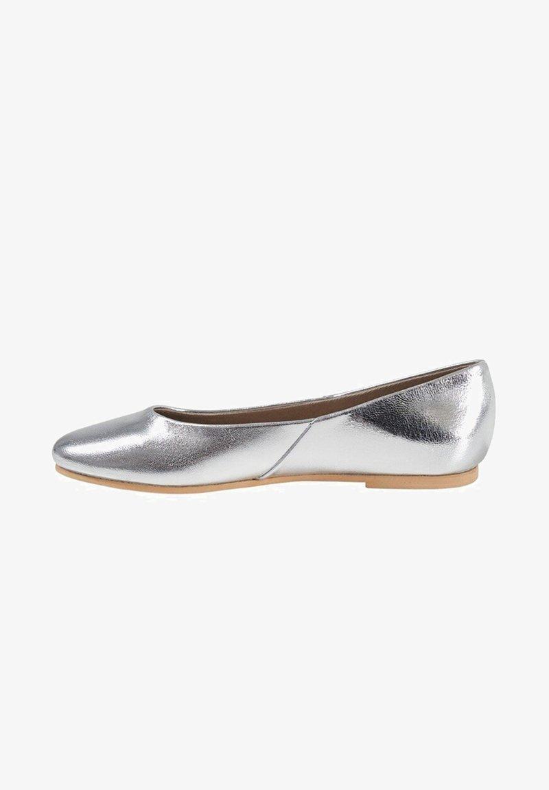 Mango - BANICO - Ballet pumps - silber