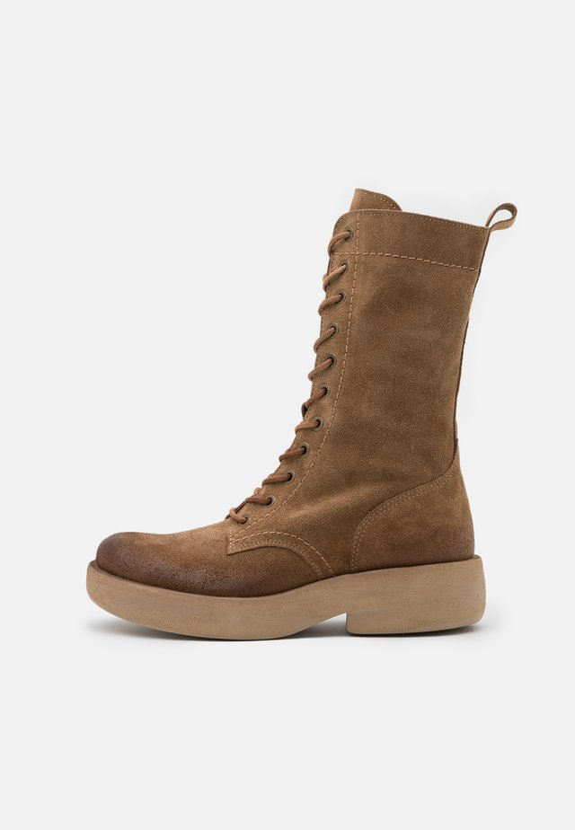 EXTRA - Lace-up boots - marvin stone