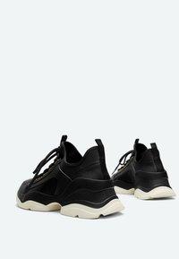 Uterqüe - Sneakers laag - black - 2