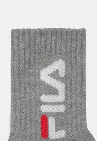 Fila - JUNIOR 6 PACK UNISEX - Socks - black/white/grey - 2