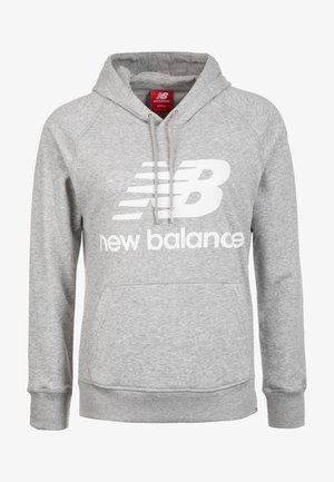ESSENTIALS HOODIE - Jersey con capucha - athletic grey