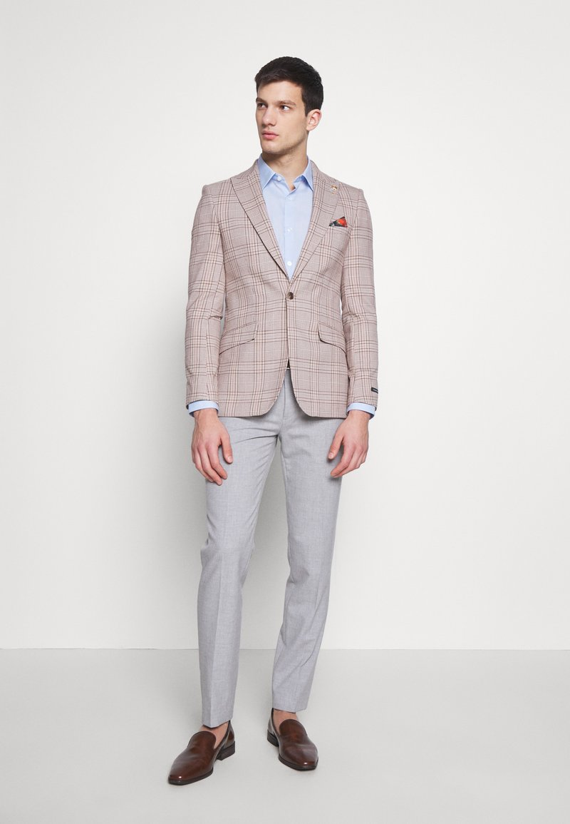 Burton Menswear London - 2 PACK FORMAL SHIRT - Camicia - blue/white