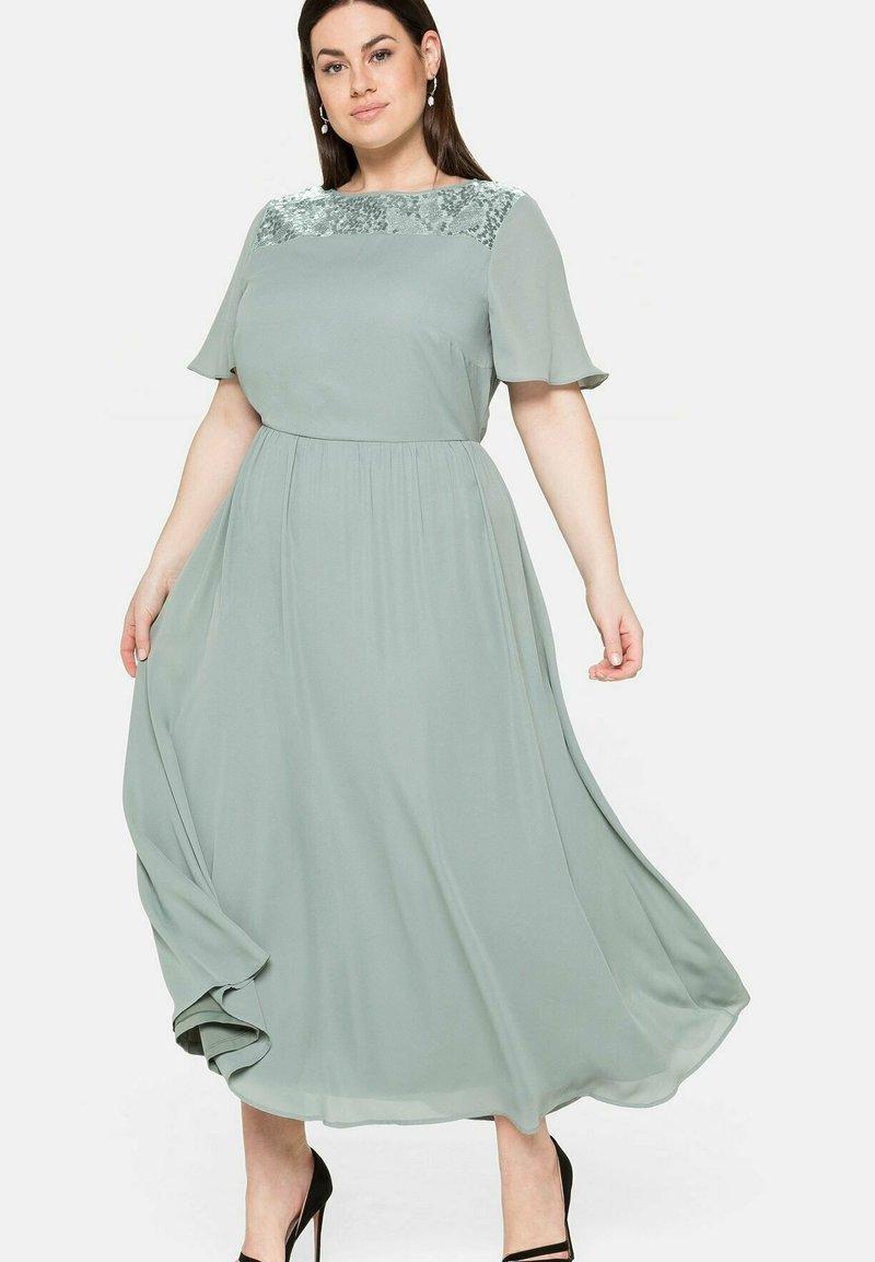 Sheego - Maxi dress - eukalyptus