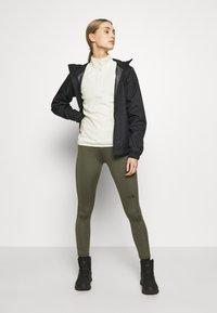 The North Face - WOMEN'S GLACIER 1/4 ZIP - Fleece jumper - vintage white - 1