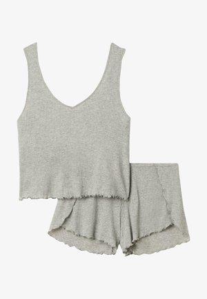 2 PACK - Pyjama set - grigio melchiaro