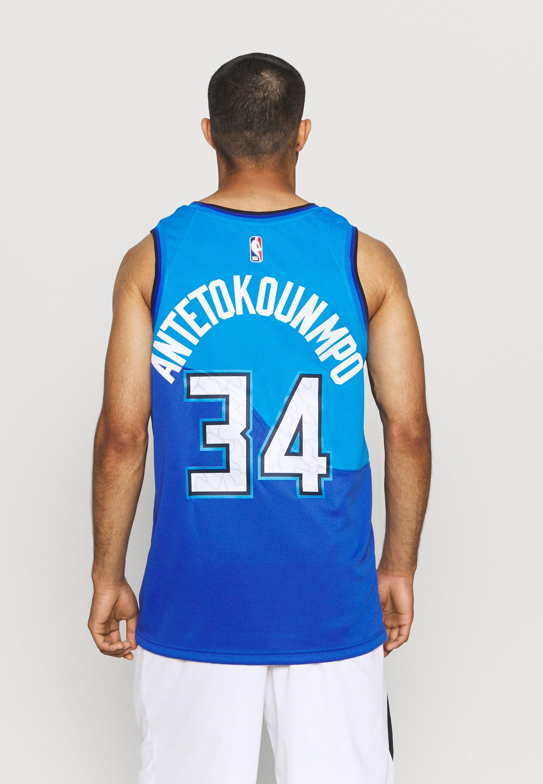 Uomo NBA MILWAUKEE BUCKS GIANNIS ANTETOKOUNMPO CITY EDITION SWINGMAN  - Squadra