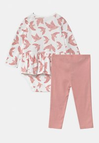 Carter's - PEPLUM SET - Leggings - Trousers - light pink - 1