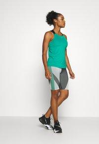 Nike Performance - ELASTIKA TANK - Sports shirt - neptune green/black/metallic silver - 1