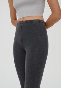 PULL&BEAR - Leggings - Trousers - dark grey - 4