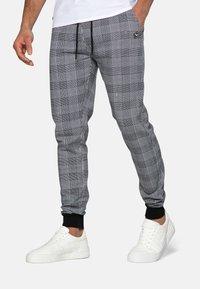 Threadbare - Teplákové kalhoty - black check - 0
