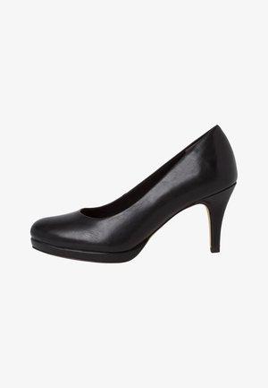 COURT SHOE - Classic heels - black matt