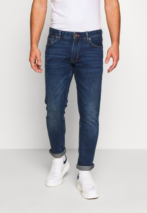 HOSE LANG - Slim fit jeans - blue denim