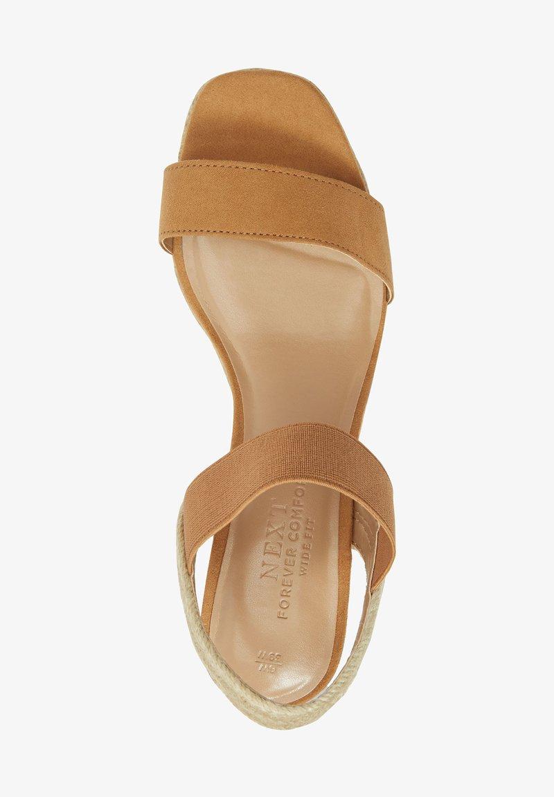 Next - High heeled sandals - brown