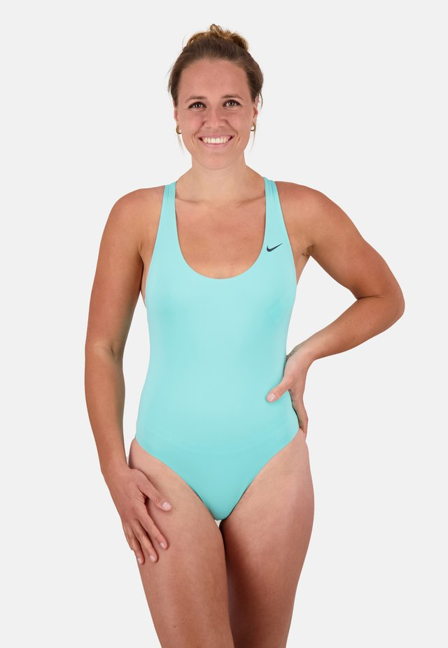 Swimsuit - aurora green
